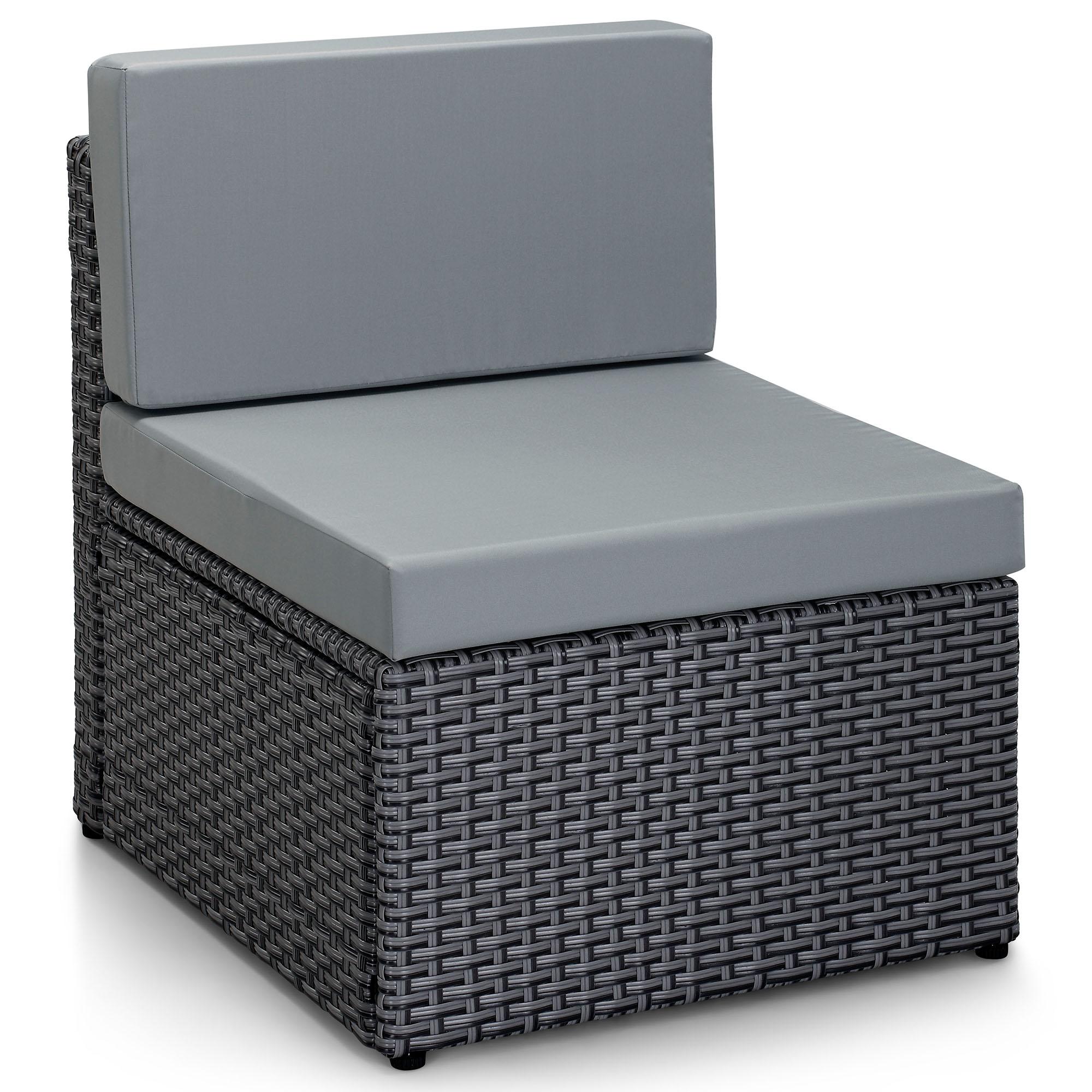 Rattan Garden Furniture L Shape rattan modular furniture | shoe800