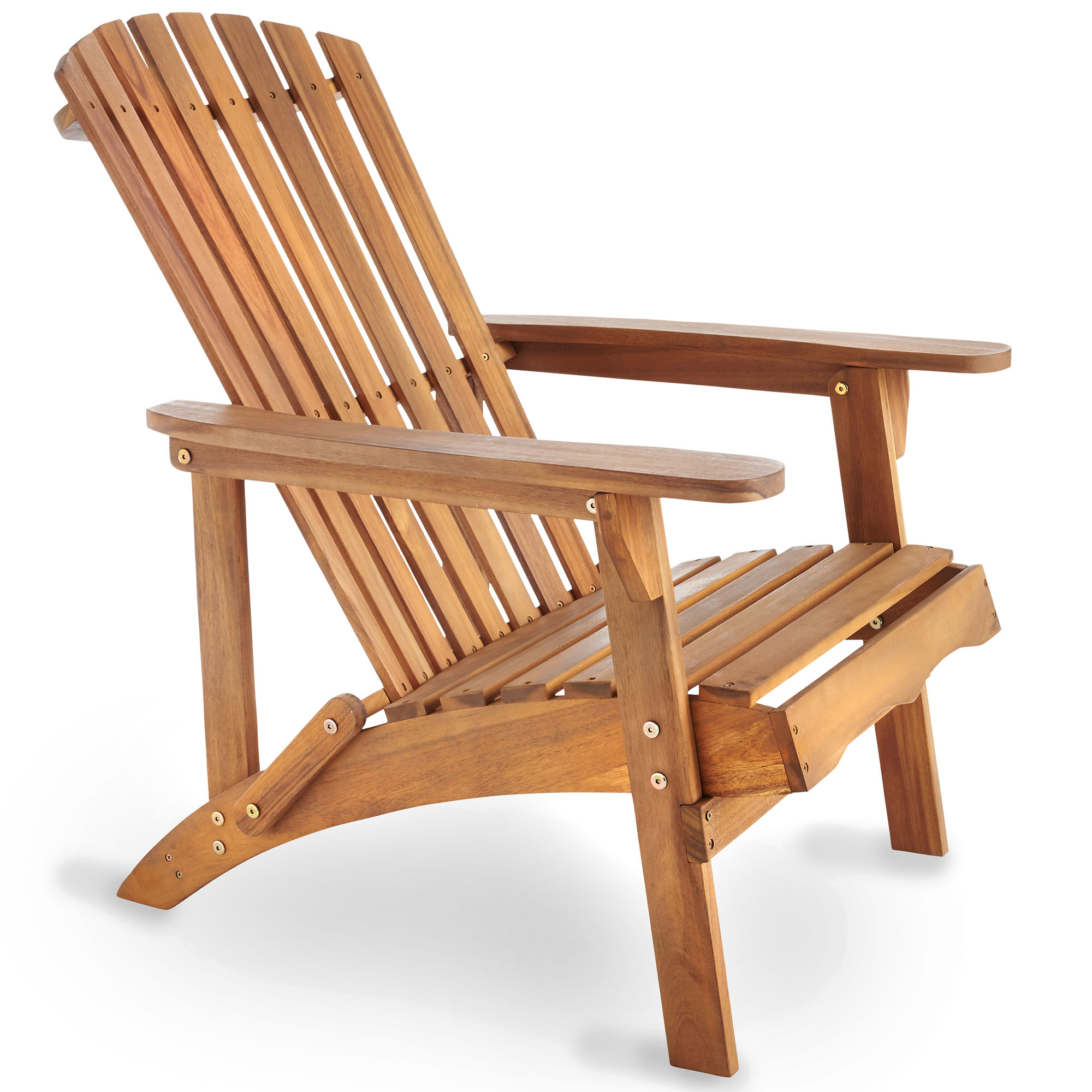 Wooden Garden Chair ~ Vonhaus adirondack chair outdoor garden patio pool balcony