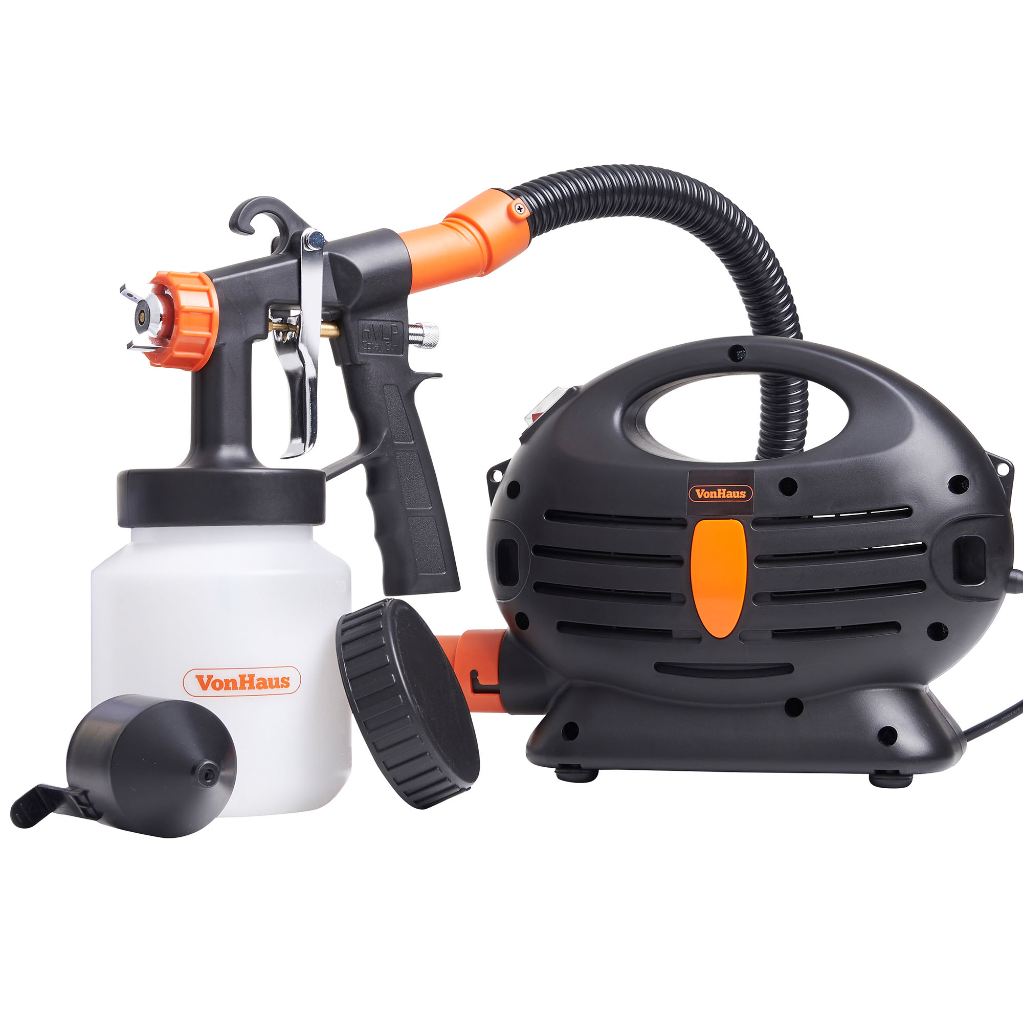 Vonhaus 850w Paint Sprayer Indoor Varnish Lacquer Fence Garden Stain Ebay