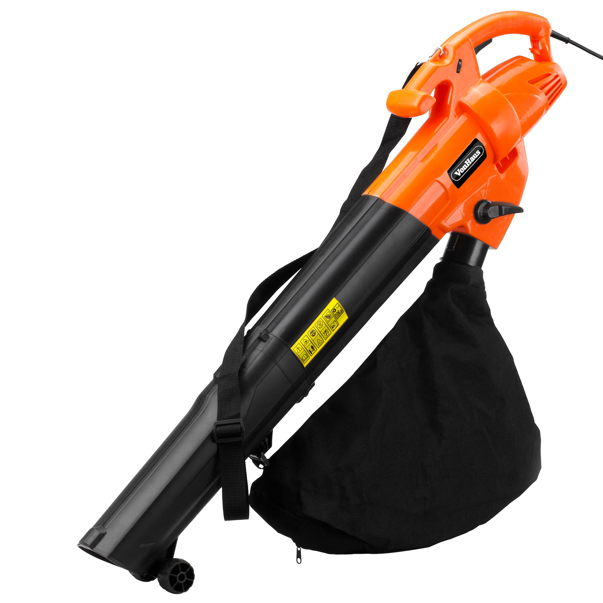 Vonhaus 2800w Electric Garden Leaf Vacuum Blower With