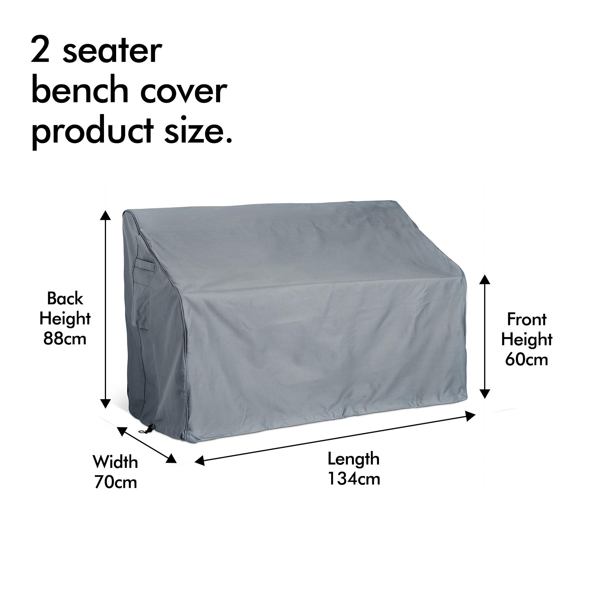Vonhaus Durable Waterproof 2 Seater Garden Patio Furniture