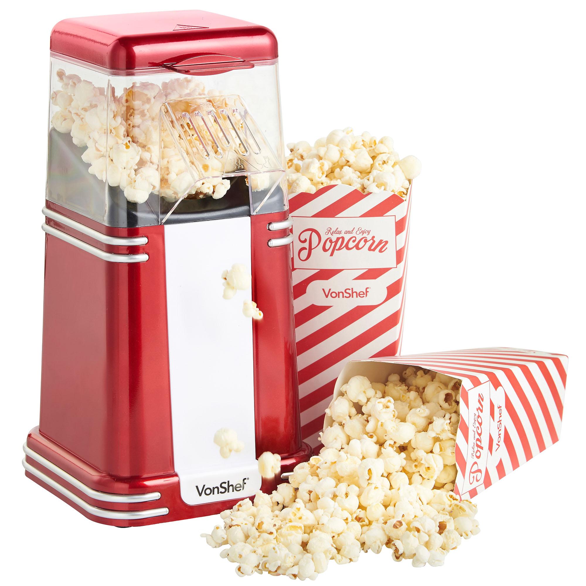 fashioned popcorn machine