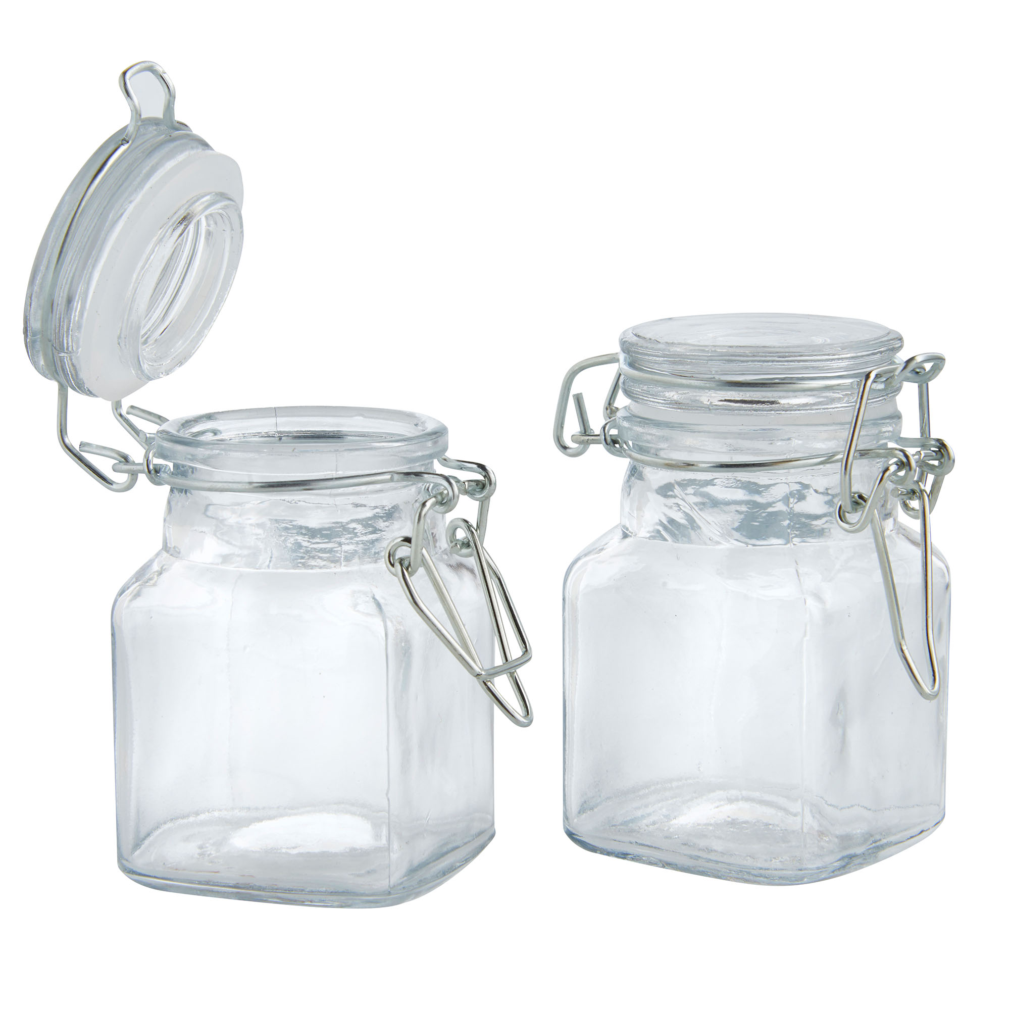 Airtight Clip Top Preserve Glass Jars