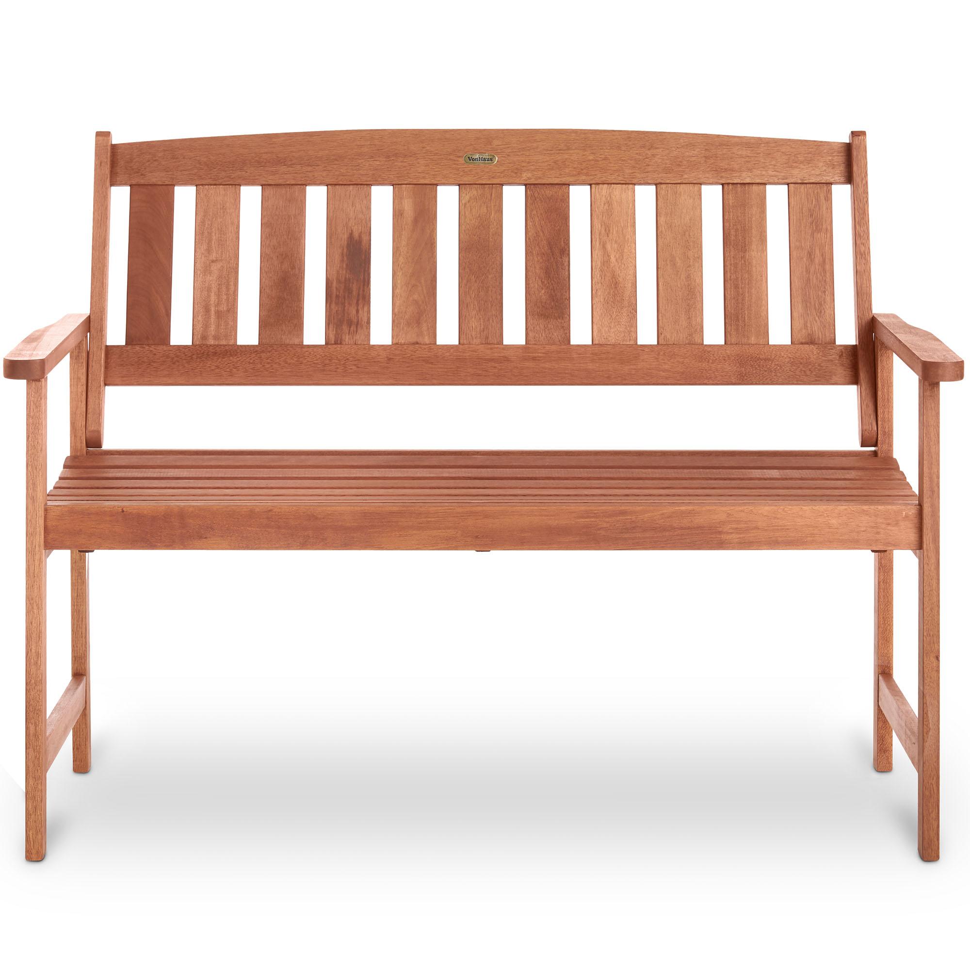 Wooden Garden Bench Teak 2 Seat Bench Kit 28 Images Sandwick Winawood 2 Seater Wood Effect