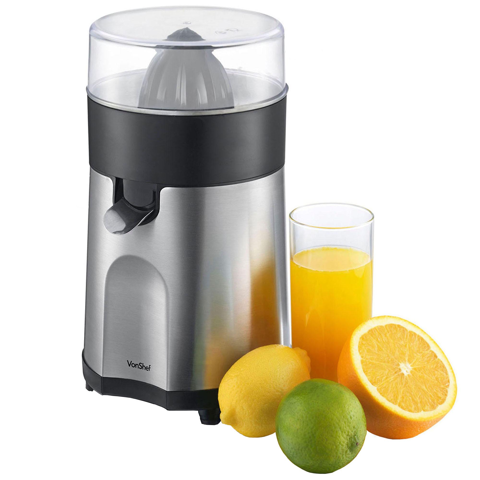 Non Electric Juicer ~ Vonshef citrus fruit juicer electric press juice