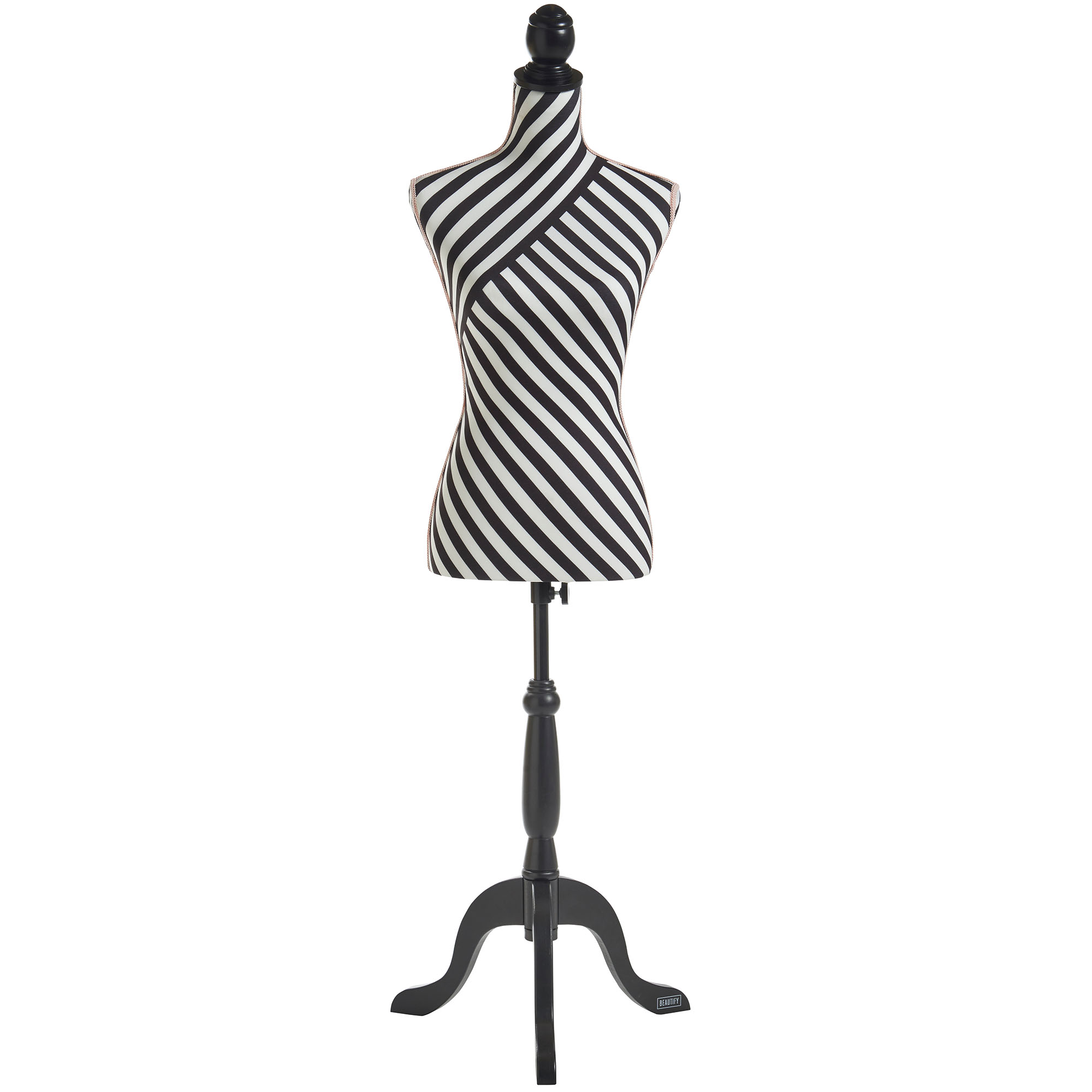 beautify female dressmaking tailor dummy bust stand fashion mannequin size 8 10 ebay. Black Bedroom Furniture Sets. Home Design Ideas