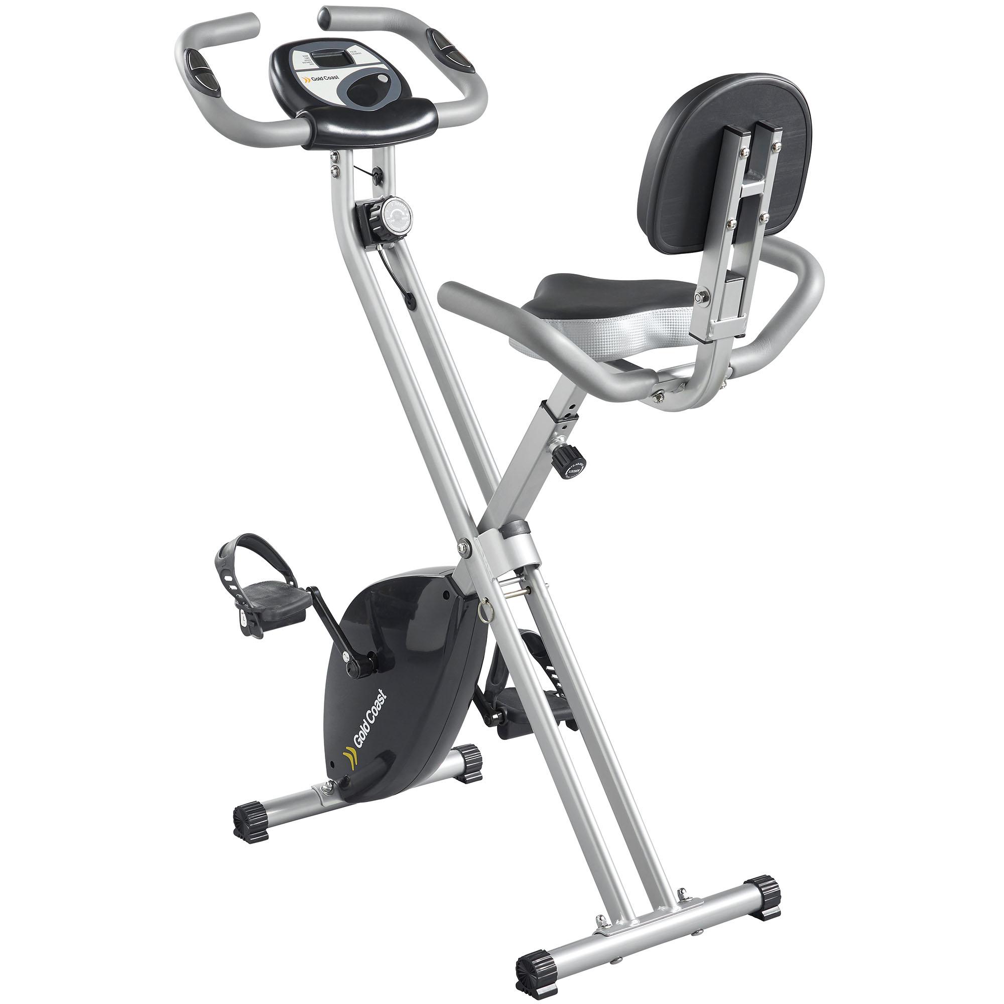Gym Equipment Gold Coast: Gold Coast Foldable Exercise Bike With Pulse Reader