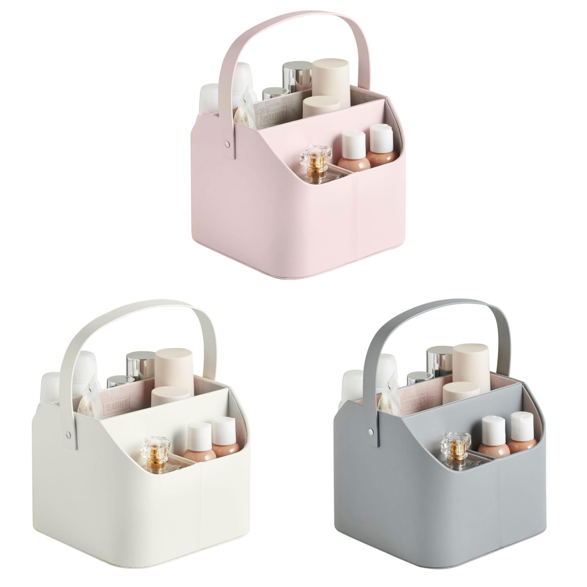 Sentinel Beautify Cosmetic Caddy with Carry Handle