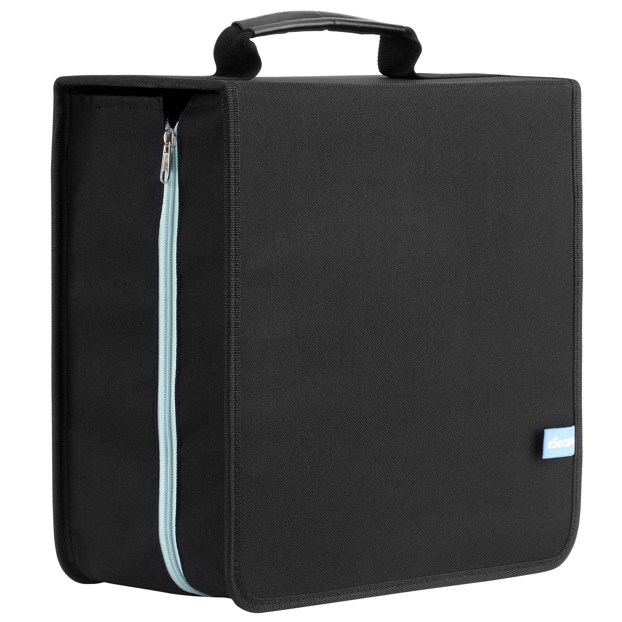 416 sleeve large cd dvd blue ray disc storage holder carry case wallet handle - Dvd case holder shelf ...