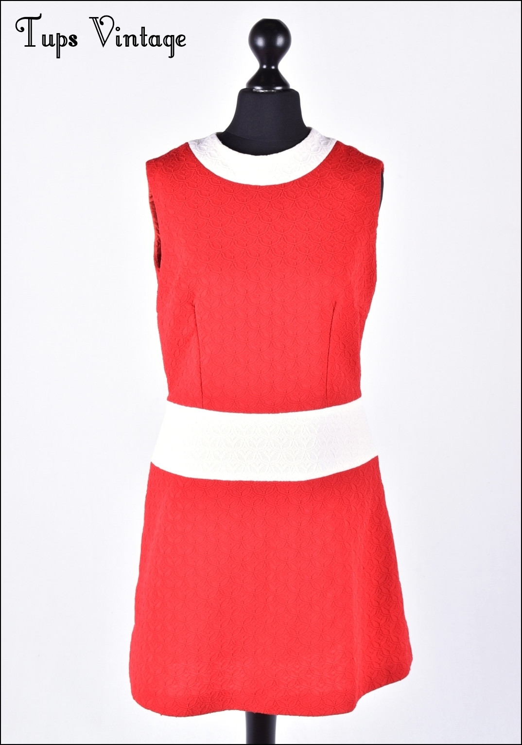Vintage mod mini dress