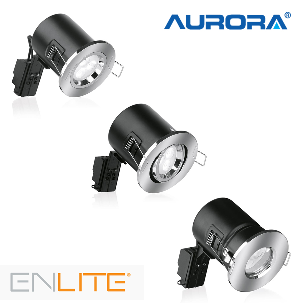 Aurora Enlite Fire Rated GU10 Downlight