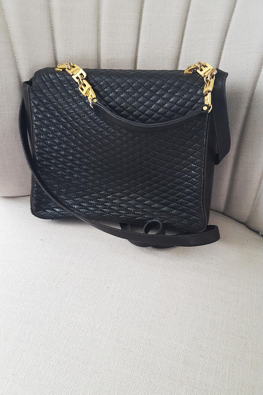 Bally Vintage Kelly Style Shoulder Bag Ebay